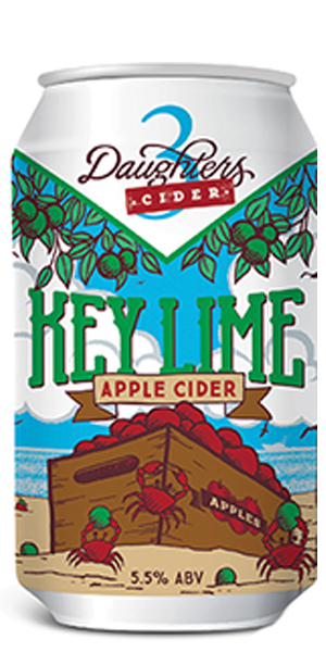 Photo of 3 Daughters Key Lime Apple Cider