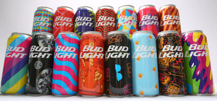 Bud Party Cans