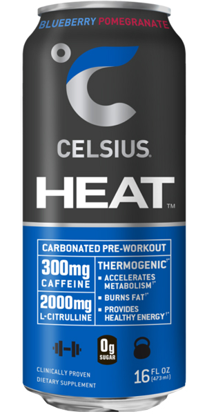 Photo of Celsius Heat Blueberry Pomegranate