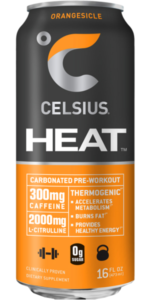Photo of Celsius Heat Orangesicle