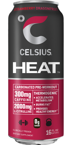 Photo of Celsius Heat Strawberry Dragonfruit
