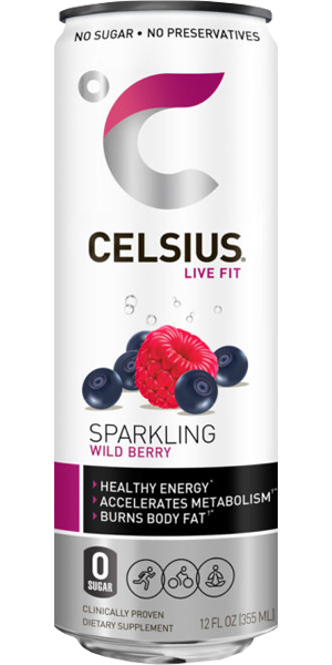 Photo of Celsius Wild Berry