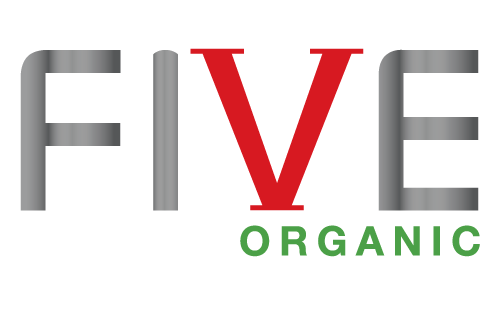 Logo for Five Organic