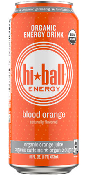 Photo of Hiball Organic Energy Drink Blood Orange