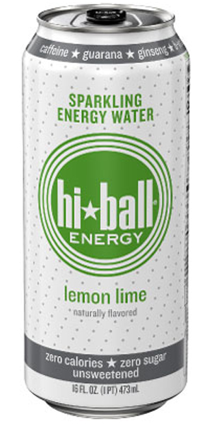 Photo of Hiball Sparkling Energy Water Lemon Lime