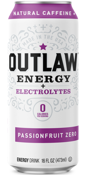 Photo of Outlaw Energy Passion Fruit Zero