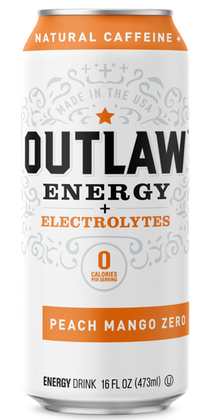 Photo of Outlaw Energy Peach Mango Zero