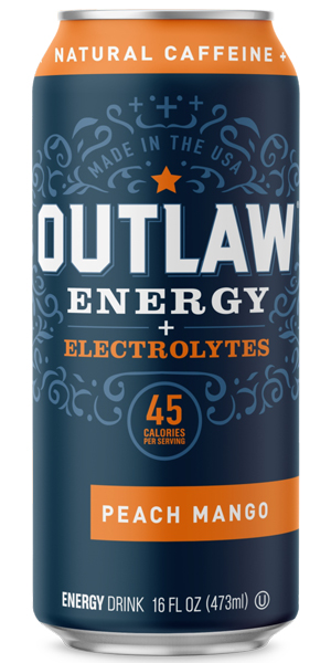 Photo of Outlaw Energy Peach Mango