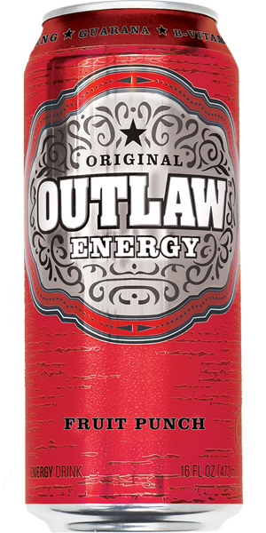 Photo of Outlaw Energy Fruit Punch