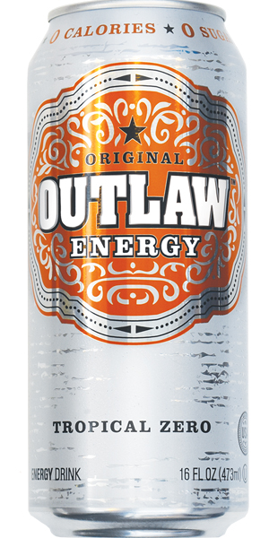 Photo of Outlaw Energy Tropical Zero