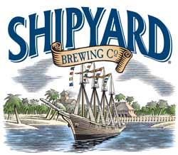 Logo for Shipyard Brewing Co.