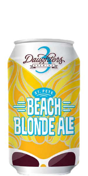 Photo of 3 Daughters St. Pete Beach Blonde Ale