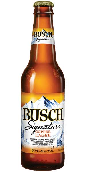 Photo of Busch Signature Copper Lager