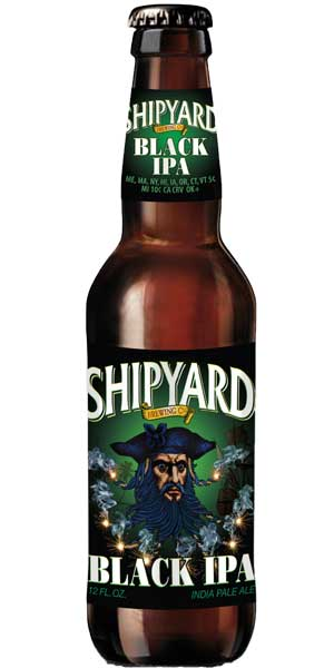 Photo of Shipyard Black IPA